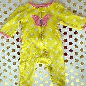 6-9 months girl sleeper pajamas